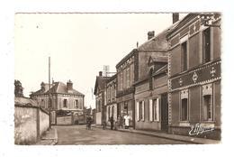 CPA 28 SAINT REMY Sur AVRE Grande Rue 1954 - France