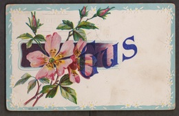 Greetings From Gus - Used 1910 - Corner Creases & Edge Wear - Greetings From...