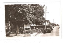 CPA 28 SAINT REMY Sur AVRE Hotel De La Terrasse Voiture Années 1940/50 - France