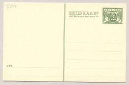 Nederland - 1938 - 2+2 Cent Op 3+3 Cent Lebeau, Briefkaart G247 - Ongebruikt - Ganzsachen