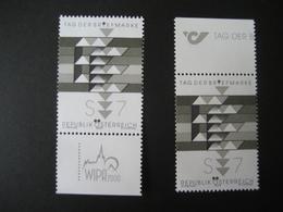 """Österreich- Schwarzdruck """"Tag Der Briefmarke"""" 2000 Blackproof - Abarten & Kuriositäten"""