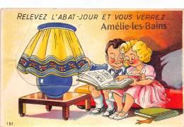 66 - PYRENEES ORIENTALES / Amélie Les Bains - 66523 - Belle Carte à Système - Other Municipalities