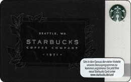 "Germany  Starbucks Card ""Starbucks Coffee Company"" 2016-6128 - Gift Cards"
