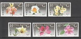 L567 HONG KONG FLOWERS !!! MICHEL 28 EURO !!! 1SET MNH - Plants