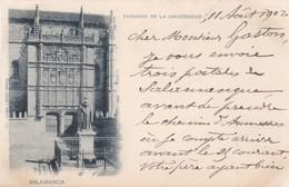 SALAMANCA / FACHADA UNIVERSITAD / CIRC 1902 - Salamanca