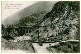 64 - B15789CPA - VALLEE D'ASPE - Les Deux Ponts - Escot - Très Bon état - PYRENEES-ATLANTIQUES - Frankrijk