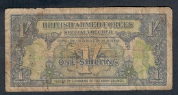 1 Shilling  BRITISH ARMED FORCES   LOTTO 450 - [ 3] Military Issues