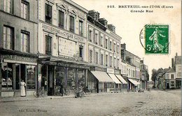 Breteuil-sur-Iton - Grande Rue - Breteuil