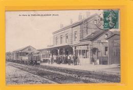 TRELON-GLAGEON -59- La Gare Avec Train - Animation - Sonstige Gemeinden