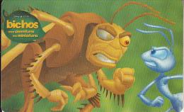 "ARGENTINA(chip) - Disney/A Bug""s Life 4, Telefonica Telecard(F 137), 10/98, Used - Argentina"