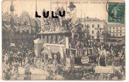 DEPT 06 : édit. Arnault : Carnaval De Nice 1911 , L Assaut De ?????????? - Autres