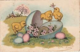 JOYEUX PÂQUES 1946 - Pâques