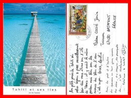 CPSM/gf  TAHITI.   Les îles Tuamotu...H051 - Tahiti