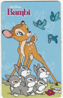 ARGENTINA(chip) - Disney/Bambi, Telefonica Telecard(F 39), 10/96, Used - Argentina