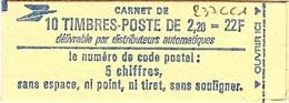 C 48 - FRANCE Carnet N° 2376 C1 - Carnets
