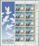 1995 Europa C.E.P.T., Minifogli Irlanda, Serie Completa Nuova (**) - Europa-CEPT