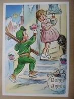 Illustrateur Germaine BOURET - Bonne Année - Bouret, Germaine