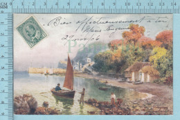 CPA Voyagé 1906 - Raphael Tuck Oilette,  -Torquay - Babbacombe Bay - H.B. Wimbush #7367 - Stamp CND #89 - Tuck, Raphael