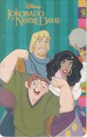 ARGENTINA(chip) - Disney/The Hunchback Of Notre Dame, Telefonica Telecard(F 09), Chip GEM1, 06/96, Used - Argentina
