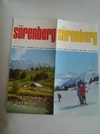 SÖRENBERG. ZENTRALSCHWEIZ. SUISSE CENTRALE. CENTRAL SWITZERLAND - SCHWEIZ, 1965 APROX. - Dépliants Touristiques