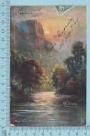 CPA Voyagé 1907 - Raphael Tuck Oilette,  -Derbyshire, High Tour, Matlock  #7122 - Stamp CND #89 - Tuck, Raphael