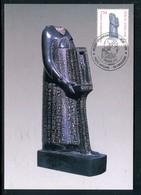 Vatican - Carte Maximum 1989 -  Oeuvre Egyptienne - Maximum Cards