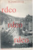 FRANCE Hautes-Alpes Gap, Rue Carnot Et Place Du Lion, Défilé De La Dernière Procession En 1903 - Gap