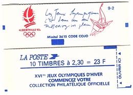 C 49 - FRANCE Carnet N° 2614 C10 Jeux Olympiques D'Hiver - Carnets