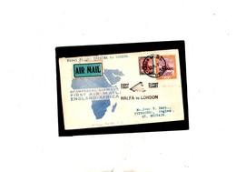SUDAN 1931 I Volo Halfa Londra, Busta Con P.A. 2 E 3 - Sudan (...-1951)