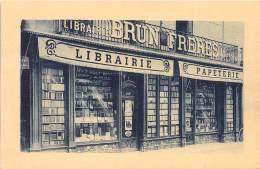 66 - PYRENEES ORIENTALES / Perpignan - 66714 - Devanture Librairie Brun Frères - Perpignan