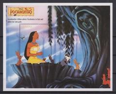 2328  WALT DISNEY - GUYANA ( POCAHONTAS) Presentation Of The Cartoon Characters -Grandmother Willow Advises Pocahontas - Disney