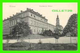 WEIMAR, GERMANY - GROSSHERZOGL, SCHLOSS -  3/4 BACK - REINTCKE & RUBIN, 1906 - - Weimar