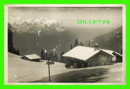 VILLARS, SUISSE - LES ECOVETS PRÈS DE VILLARS-CHESIERES - LE GRAMMONT ET LE JURA - CIRCULÉE  1936 - EDIT CART, PERROCHE - VD Vaud