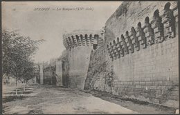 Les Remparts, Avignon, Vaucluse, C.1910 - Neurdein CPA - Avignon