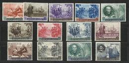 1952 San Marino Saint Marin COLOMBO Serie Di 13 Valori MNH** - Christopher Columbus