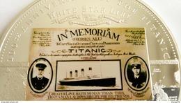 TITANIC 1912- 2012 MEDAILLE COMMEMORATIVE DU NAUFRAGE DU PAQUEBOT TITANIC - Royaume-Uni