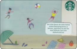 Germany  Starbucks Card Summer Beach 2016-6136 - Gift Cards