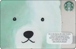 Germany  Starbucks Card Eisbär 2016-6129 - Gift Cards