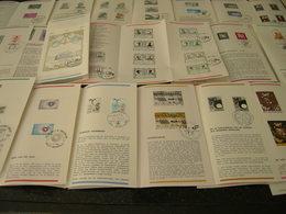 BELG.1980 Kompleet Jaar ,zegels Met Eerstedag Stempel Op NL Postfolders ,21 STUKS - FDC