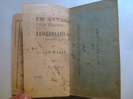 KHALIL M. SAAD - NEW METHOD FOR TEACHING THE ENGLISH LANGUAGE - 1909. ARAB. - Boeken, Tijdschriften, Stripverhalen