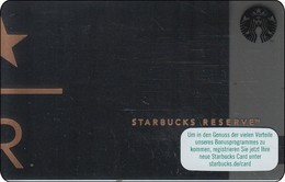 Germany  Starbucks Card Reserve R 6132 - Gift Cards