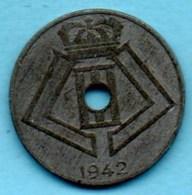 (r65)   BELGIQUE  10 Cents 1942 DUTCH Légend German Occupation WWII - 02. 10 Centimes
