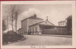 Marche-en-Famenne La Gare Station (En Très Bon Etat) (In Zeer Goede Staat) Luxemburg Luxembourg - Marche-en-Famenne