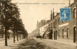 MONTCHANIN LES MINES - Avenue De La République La Poste - France