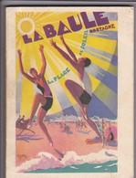 """44---RARE---LA BAULE Bretagne La Plage Du Soleil--Guide Officiel Du Syndicat D'initiatives """" ESSI """"--voir 7 Scans - Tourisme"""