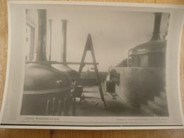 Abdij Westmalle Opbouw Der Brouwerij 1934  13 Op 17 Cm - Reproductions