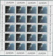 1995 Europa C.E.P.T., Minifogli Croazia, Serie Completa Nuova (**) - Europa-CEPT