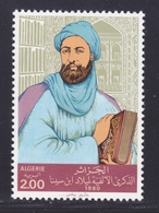ALGERIE N°  722 ** MNH Neuf Sans Charnière, TB (D7436) Avicenne, Médecin Et Philosophe Iranien - Algeria (1962-...)
