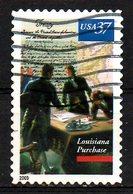 USA. N°3475 Oblitéré De 2003. Achat De La Louisiane à La France. - Stati Uniti