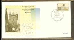 1986 - Nederland Filatelieloket Stempel FLS 5 - Hattem [HT005] - Poststempels/ Marcofilie